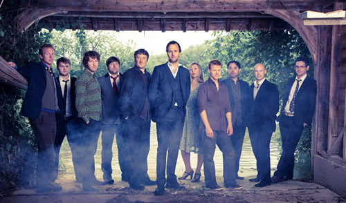 Bellowhead Unveil new video for 10,000 Miles